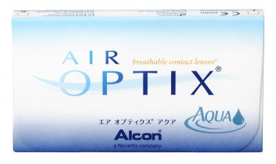 Modele usor de folosit: lentile Air Optix