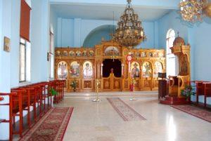 Interior Catedrala Sf Stefan Ierusalim