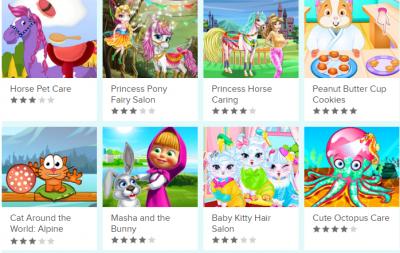 Jocuri cu animale, online