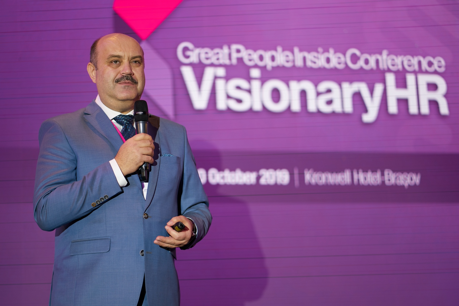 "Conferinta Great People Inside – ""Visionary HR"", 09-10 Octombrie 2019"